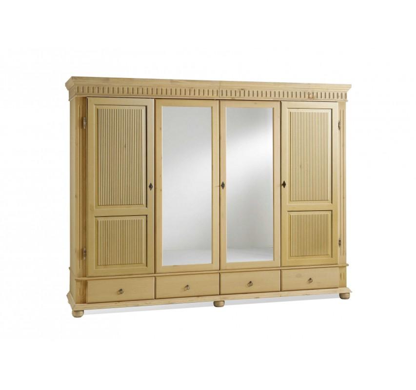 4-dveřová skříň Gustav