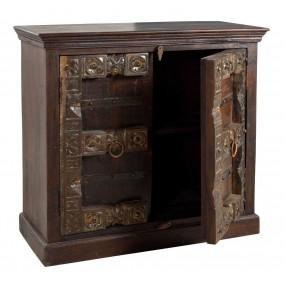 Dřevěná komoda z recyklovaného dřeva Mamba