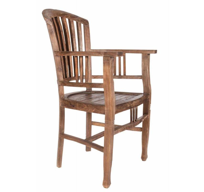 Masivní židle s područkami Marina