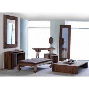 Dřevěný konferenční stolek z teaku Marina
