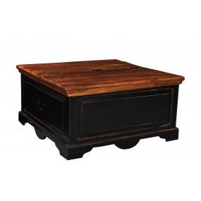 Černá konferenční stolek Sicilia