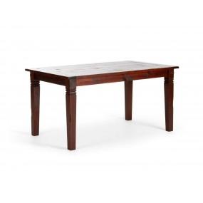 Hnědý jídelní stůl 150x90...