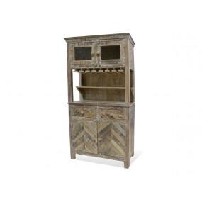 Dřevěná barová skříň Antique