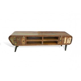Barevný tv stolek z palisandrového dřeva Heat