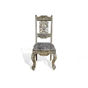 Masivní židle antický design India