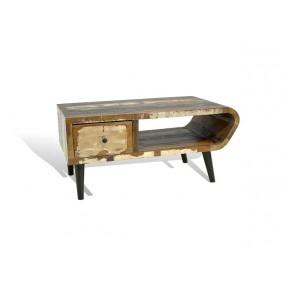 Barevný konferenční stolek z palisandru Heat