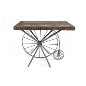 Dřevěná konzole z masivního dřeva Bike