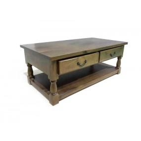 Dřevěný konferenční stolek India