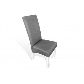 Kuchyňská židle z textilu šedá židle