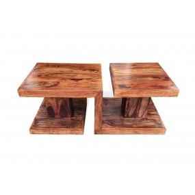 Designový konferenční stolek Romeo z masivního palisandru