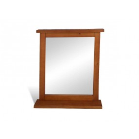 Dřevěné zrcadlo Sevila