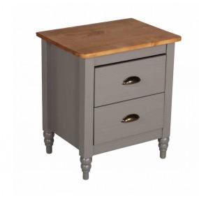 Dřevěný noční stolek Irelia