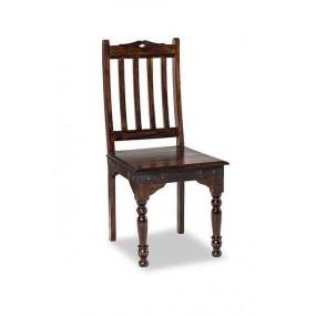 Jídelní set z palisandru Alex - Stůl 90x90 + 2x židle - Výprodej