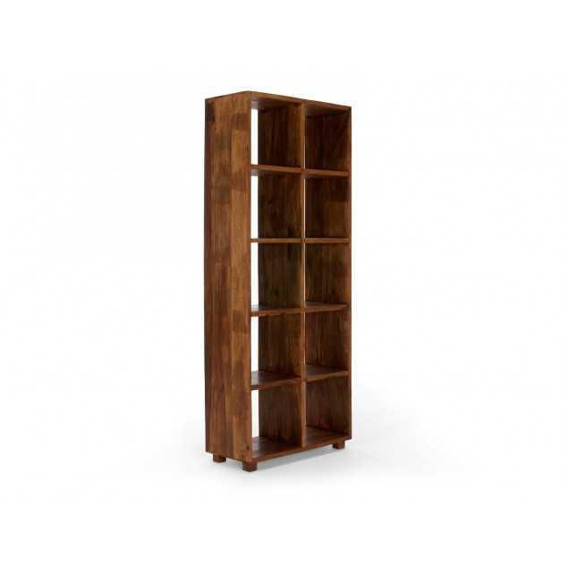 Masivní dřevěná knihovna z palisandru Square
