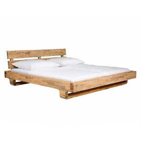 Dřevěná postel Madrid 180x200 akát