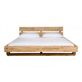 Dřevěná postel Madras 180x200 akát