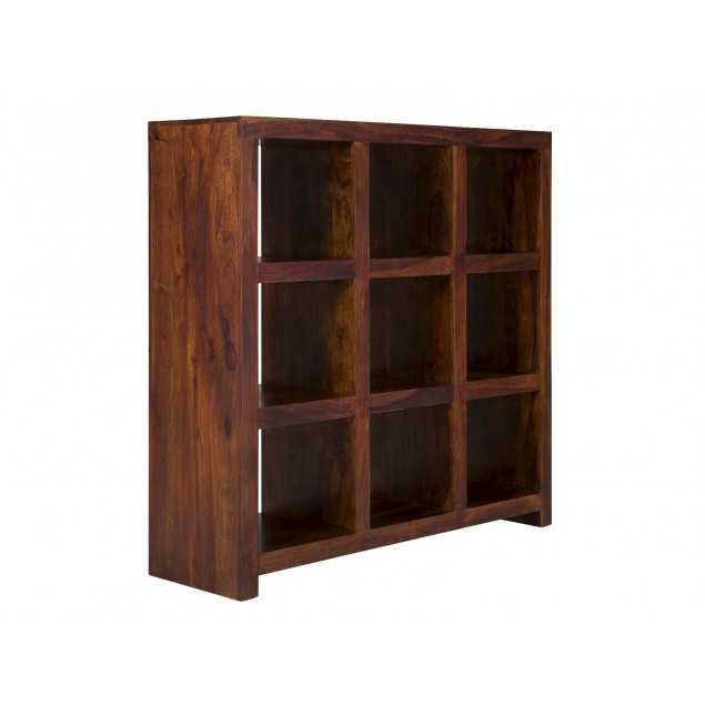 Masivní knihovna z tmavého palisandru Rosewood