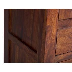 Úzká vitrína z masivu Rosewood