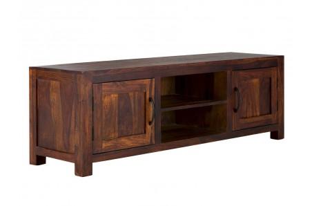 Tmavý masivní TV stolek Rosewood