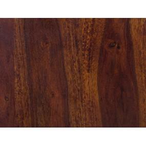 Masivní postel z palisandru Rosewood tmavá