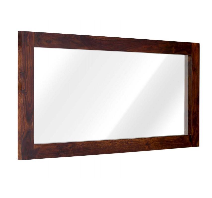 Zrcadlo dřevěné z palisandru Rosewood