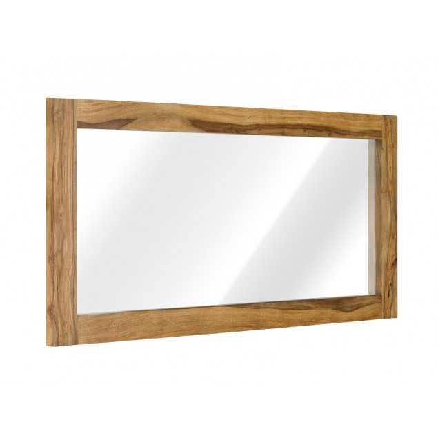 Dřevěné zrcadlo Rosewood