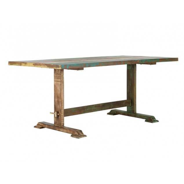 Masivní jídelní stůl 180x90 Cross