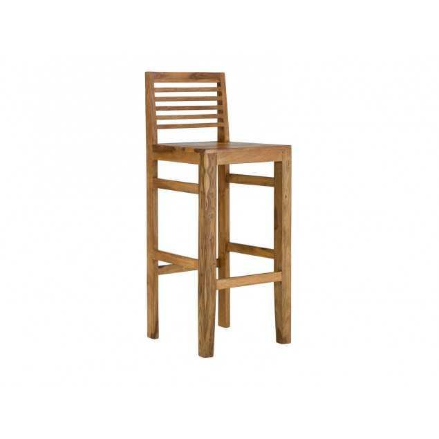 Dřevěná barová židle z palisandru Kraft