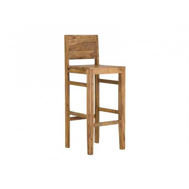 Masivní barová židle z palisandru Kraft