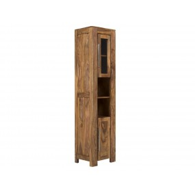 Masivní skříňka do koupelny z palisandru Kraft