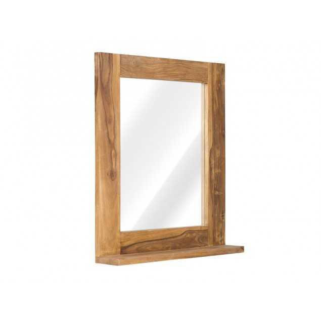 Masivní zrcadlo z palisandru Kraft
