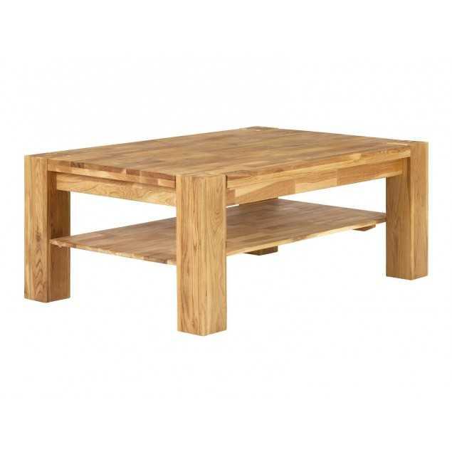 Konferenční stolek 120x80 z dubového dřeva Easthill