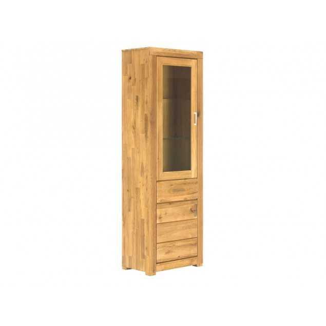 Vitrína z dubového dřeva Easthill