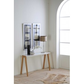 Konzolový stolek Van bílý