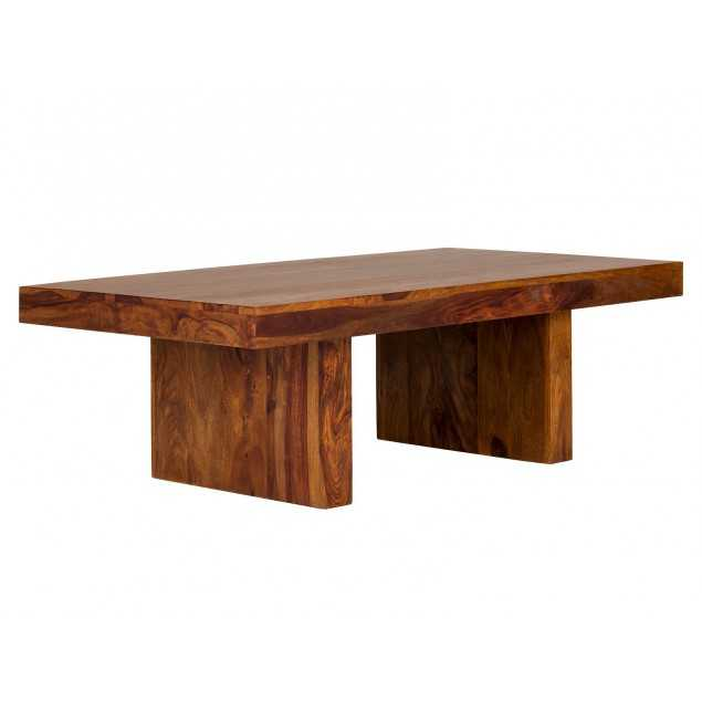 Hnědý konferenční stolek z palisandru Kánpur