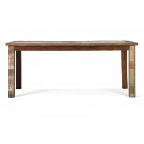 Dřevěný jídelní stůl z exotického dřeva Agra