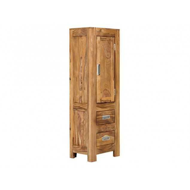 Vysoká skříňka do koupelny z palisandru Venezie