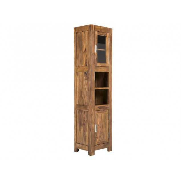 Vysoká skříň z palisandru do koupelny Venezie