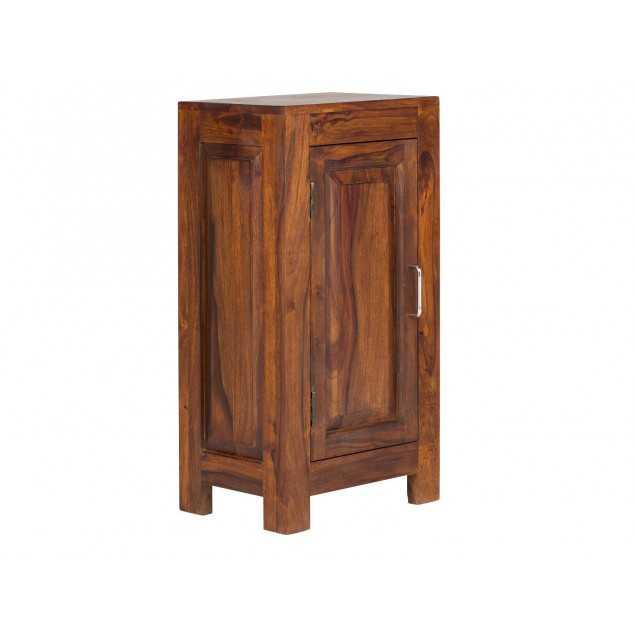 Dřevěná skříňka do koupelny z palisandru Squarus