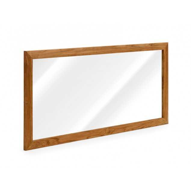 Zrcadlo Rose 150x70 teak