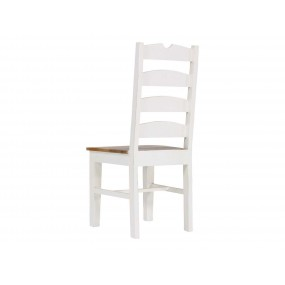 Dřevěná židle Madagaskar bílá