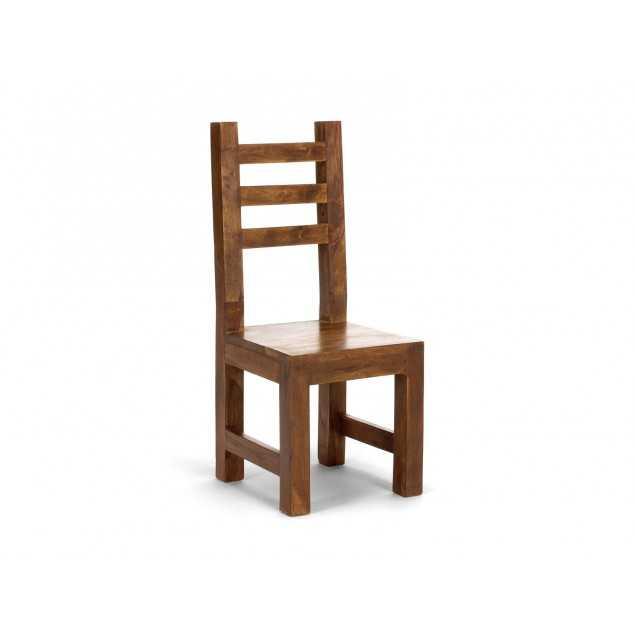 Dřevěná židle z palisandrového dřeva Squarus