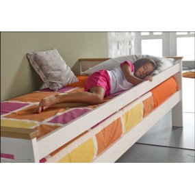Bílá postel Jessica - bílá