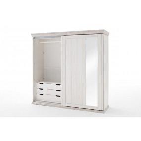 Dvoudveřová šatní skříň Göterberg z masivu