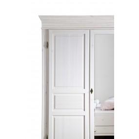 Dvoudveřová šatní skříň Harald