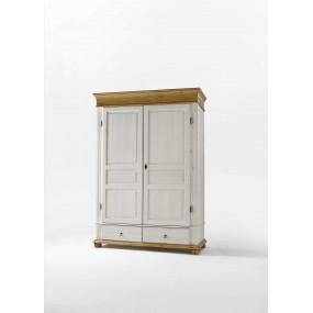 Vysoká šatní skříň dvoudveřová Harald