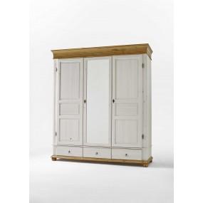 Třídveřová šatní skříň Harald