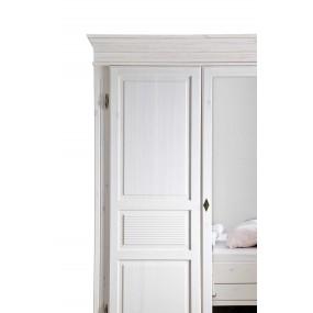 Vysoká šatní skříň čtyřdveřová Harald