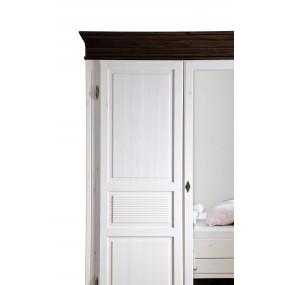 Dřevěná postel Harald z borovice