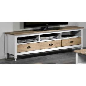 Dřevěný TV stolek z borovice Irelia